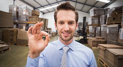 Evitar accidentes en los envíos y el almacén